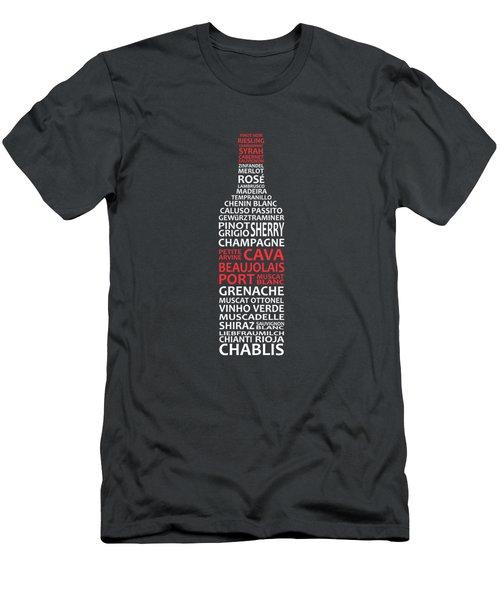 The Wine Connoisseur Men's T-Shirt (Athletic Fit)