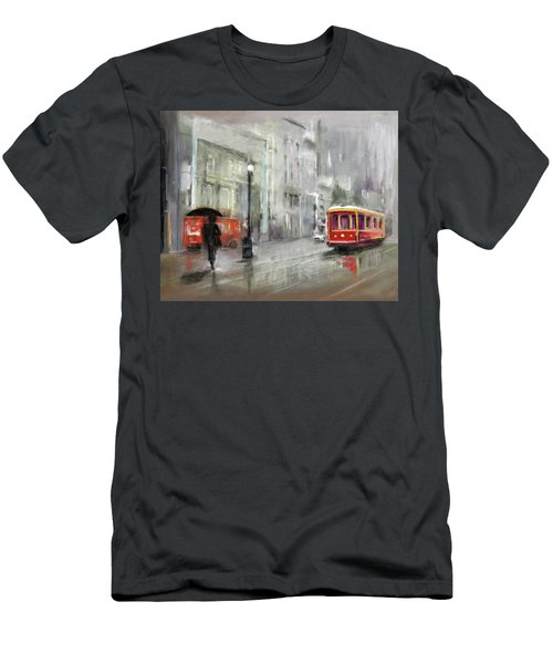 The Woman In The Rain Men's T-Shirt (Athletic Fit)
