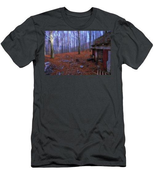 The Wood A La Magritte - Il Bosco A La Magritte Men's T-Shirt (Athletic Fit)
