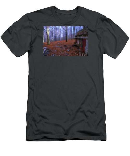 The Wood A La Magritte - Il Bosco A La Magritte Men's T-Shirt (Athletic Fit)