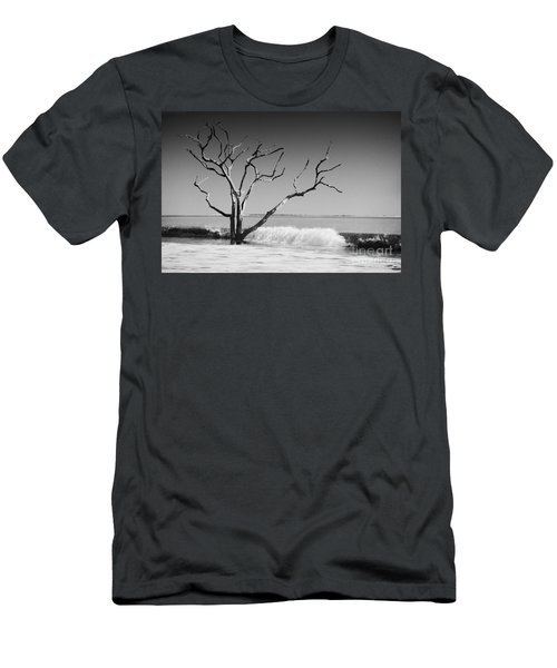 Men's T-Shirt (Slim Fit) featuring the photograph The World Is Coming Down II by Dana DiPasquale