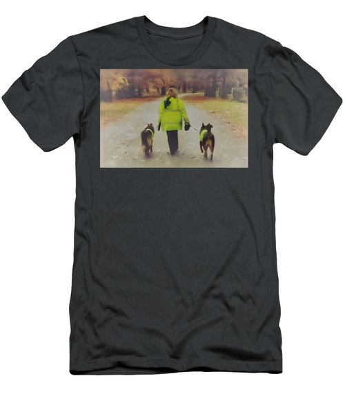 The Yellow Coats Men's T-Shirt (Athletic Fit)