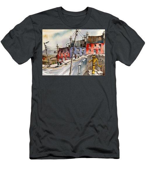 The Yellow Pump, Eyeries, Cork Men's T-Shirt (Athletic Fit)