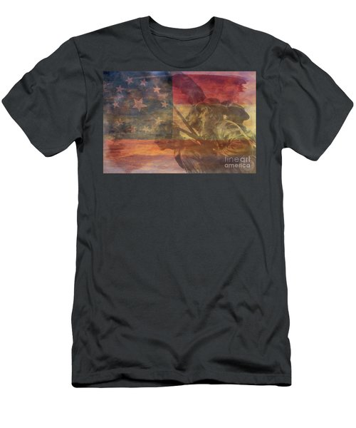 Their Final Charge At Gettysburg Men's T-Shirt (Athletic Fit)