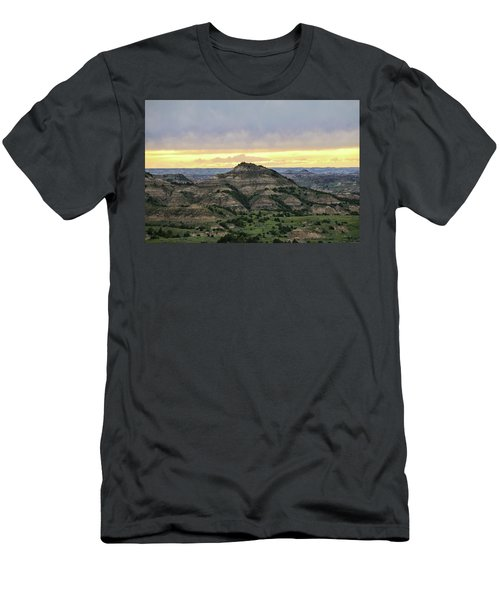 Theodore Roosevelt National Park, Nd Men's T-Shirt (Athletic Fit)