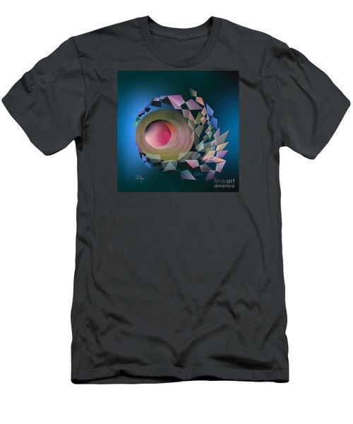 Men's T-Shirt (Slim Fit) featuring the digital art Theory Of Joke by Leo Symon