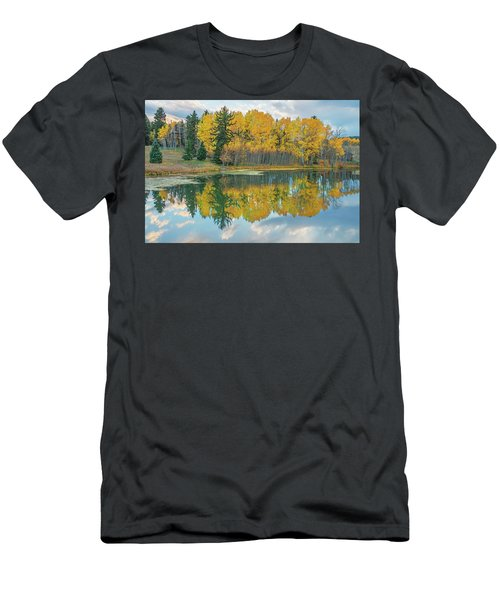 There's A Belvedere By This Pond.  Men's T-Shirt (Athletic Fit)