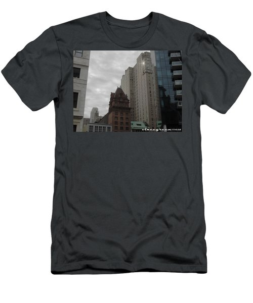 They Always Say It's Sunny In Philadelphia Men's T-Shirt (Athletic Fit)