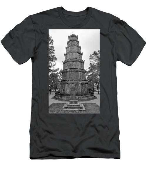 Thien Mu Pagoda Men's T-Shirt (Athletic Fit)