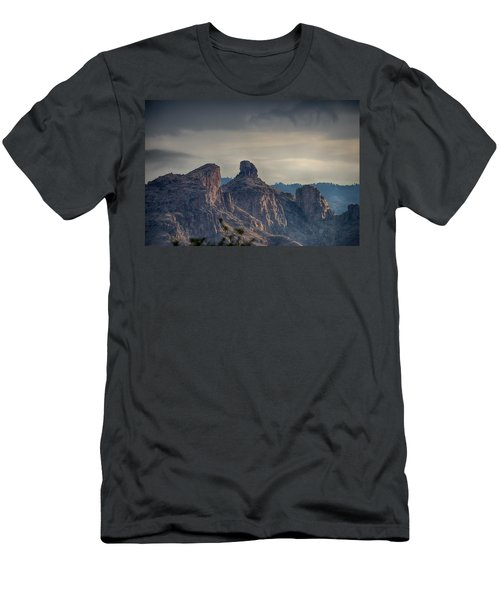 Men's T-Shirt (Slim Fit) featuring the photograph Thimble Peak Sunrise by Dan McManus