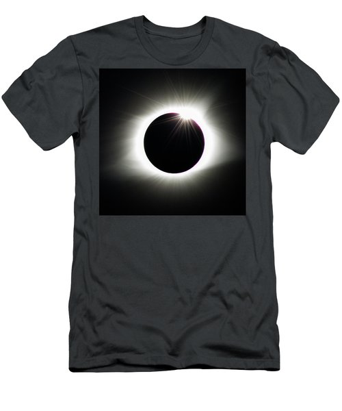 Men's T-Shirt (Athletic Fit) featuring the photograph Third Contact by Randy Scherkenbach