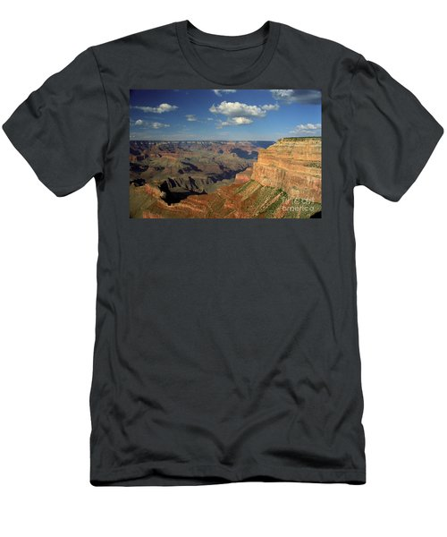 This Is My Father's World Men's T-Shirt (Slim Fit) by Kathy McClure