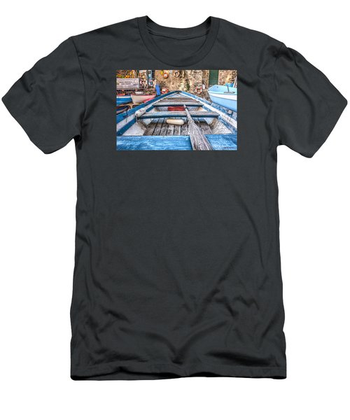Men's T-Shirt (Slim Fit) featuring the photograph This Old Boat by Brent Durken