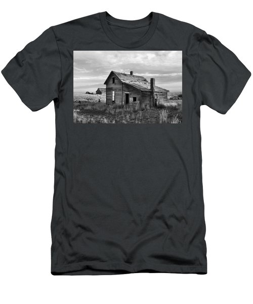 This Old House Men's T-Shirt (Slim Fit) by Jim Walls PhotoArtist