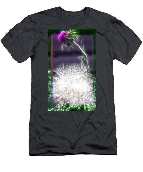 Thistle Men's T-Shirt (Slim Fit) by EricaMaxine  Price