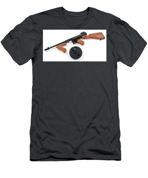 Thompson Submachine Gun Men's T-Shirt (Athletic Fit)