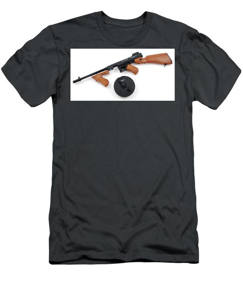 Thompson Submachine Gun Men's T-Shirt (Athletic Fit)