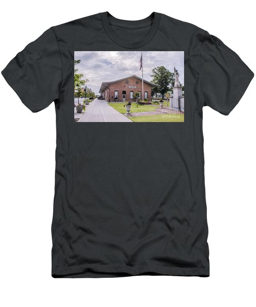 Men's T-Shirt (Athletic Fit) featuring the photograph Thomson Georgia #smalltown by Andrea Anderegg