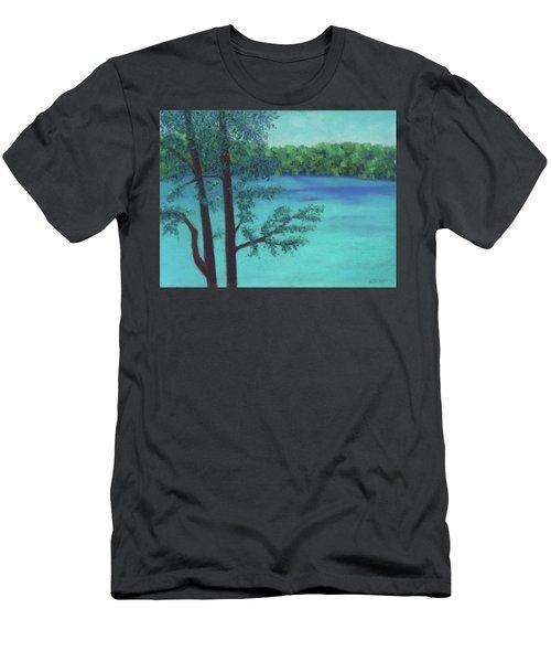 Thoreau's View Men's T-Shirt (Athletic Fit)