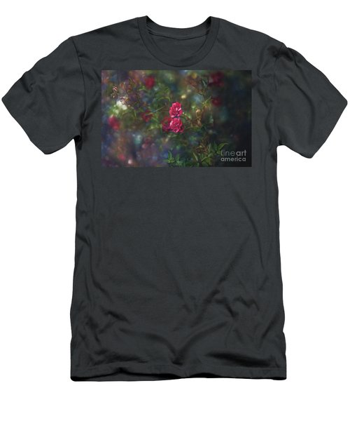 Thorns And Roses II Men's T-Shirt (Athletic Fit)