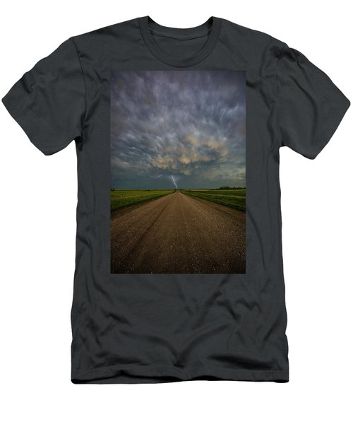 Men's T-Shirt (Athletic Fit) featuring the photograph Thor's Chariot  by Aaron J Groen