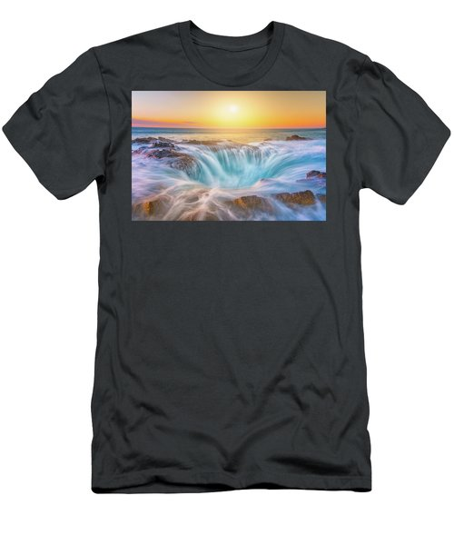 Men's T-Shirt (Athletic Fit) featuring the photograph Thor's Light by Darren White