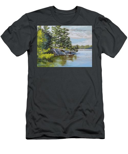 Thousand Islands Men's T-Shirt (Athletic Fit)