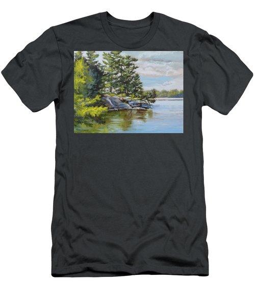 Thousand Islands Men's T-Shirt (Athletic Fit)