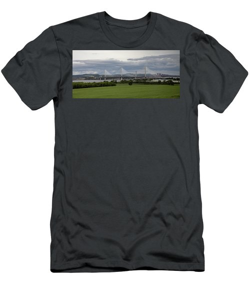 Three Bridges Over The Forth Men's T-Shirt (Athletic Fit)