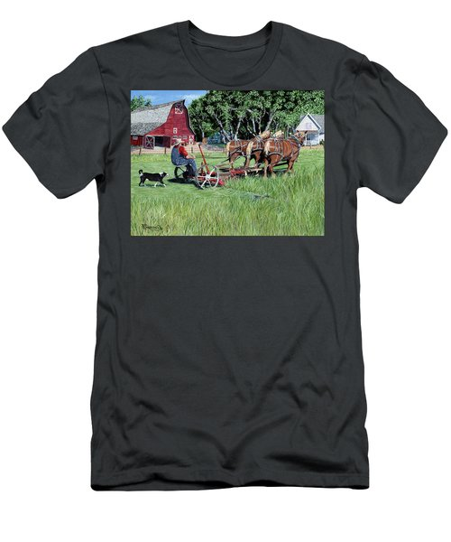 Three Horsepower Men's T-Shirt (Athletic Fit)