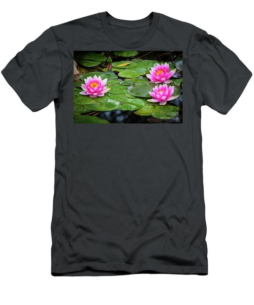 Three Lilies Men's T-Shirt (Athletic Fit)