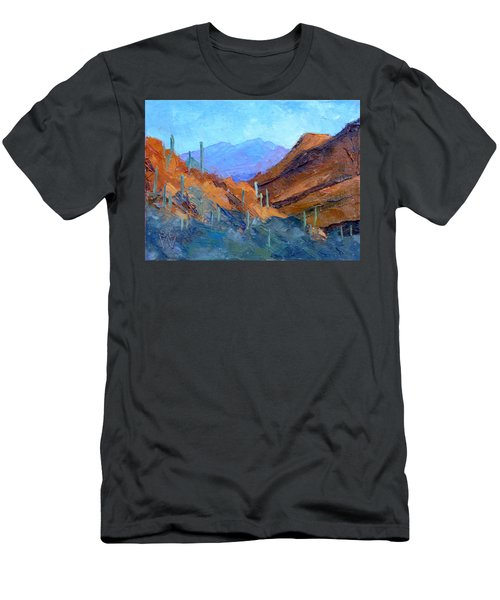 Through Gates Pass Men's T-Shirt (Athletic Fit)