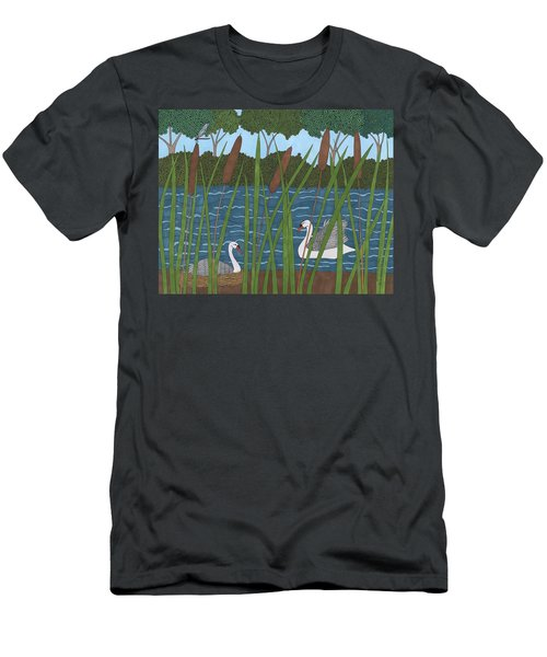 Through The Cattails Men's T-Shirt (Athletic Fit)
