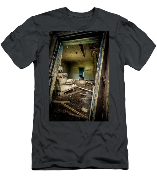 Through The Crooked Window Men's T-Shirt (Athletic Fit)