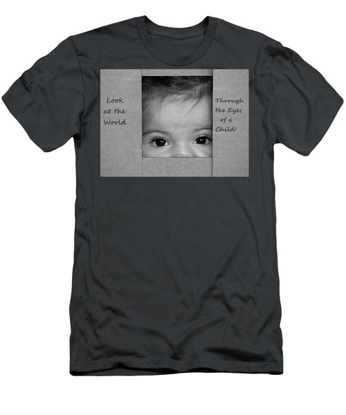 Through The Eyes Of A Child Men's T-Shirt (Athletic Fit)