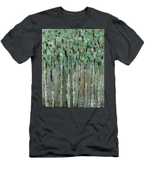 Through The Forest Men's T-Shirt (Slim Fit) by Kirsten Reed