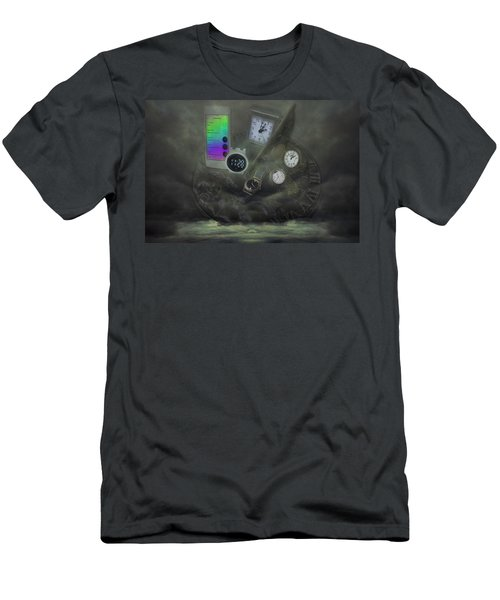 Through The Mists Of Time Men's T-Shirt (Athletic Fit)