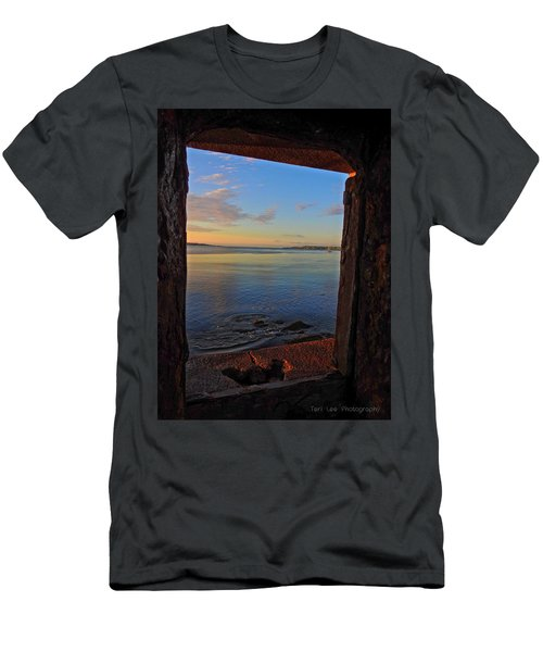 Through The Window Men's T-Shirt (Athletic Fit)