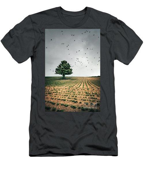 Thunder Arising Men's T-Shirt (Athletic Fit)