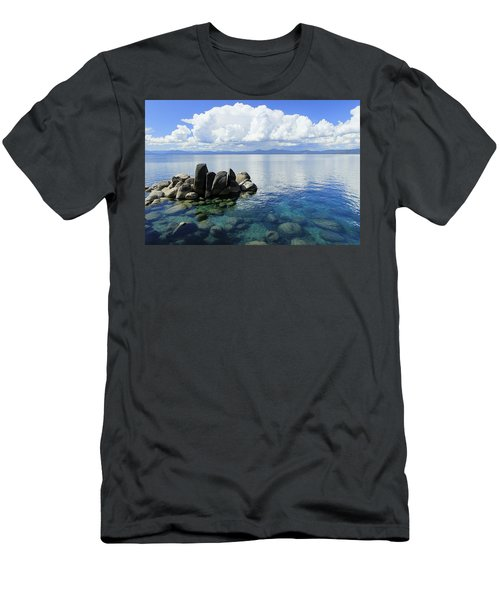 Men's T-Shirt (Athletic Fit) featuring the photograph Thunderclouds by Sean Sarsfield