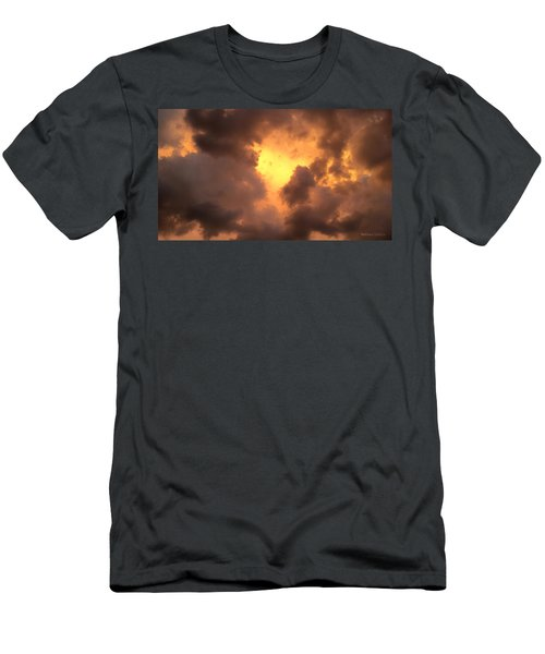 Thunderous Sunset Men's T-Shirt (Athletic Fit)