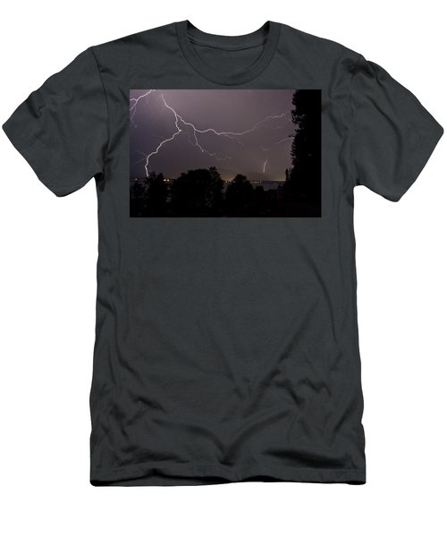 Thunderstorm II Men's T-Shirt (Athletic Fit)