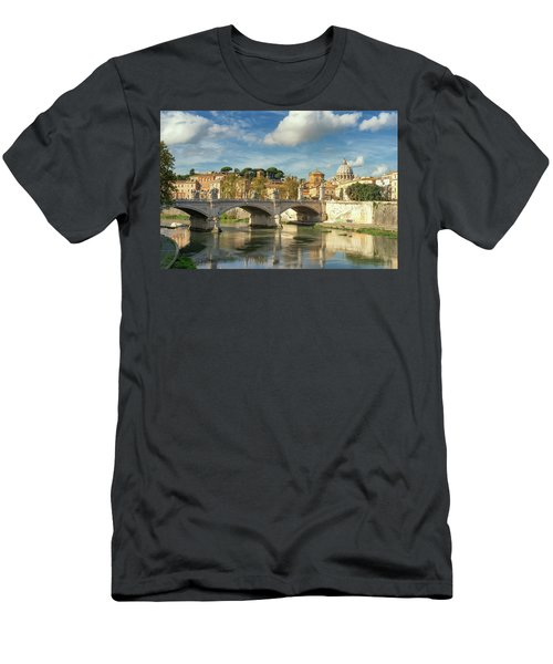 Tiber View Men's T-Shirt (Athletic Fit)