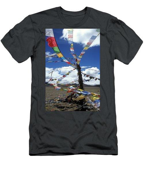 Tibet_304-8 Men's T-Shirt (Athletic Fit)
