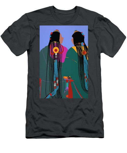 Tibetan Women Men's T-Shirt (Athletic Fit)
