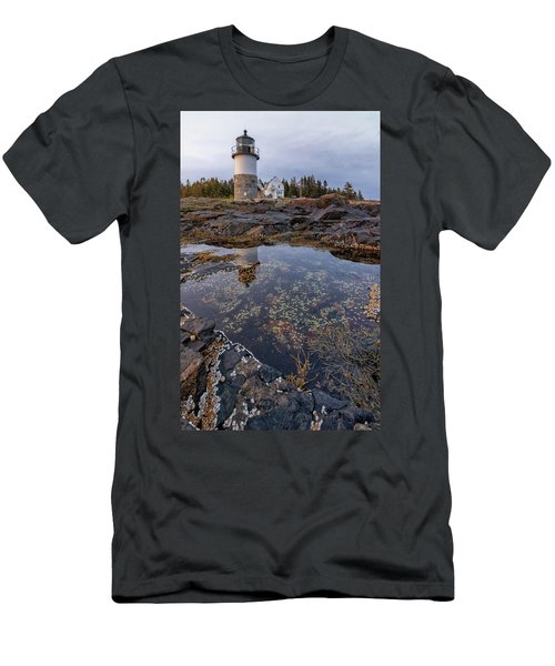 Tide Pools At Marshall Point Lighthouse Men's T-Shirt (Athletic Fit)