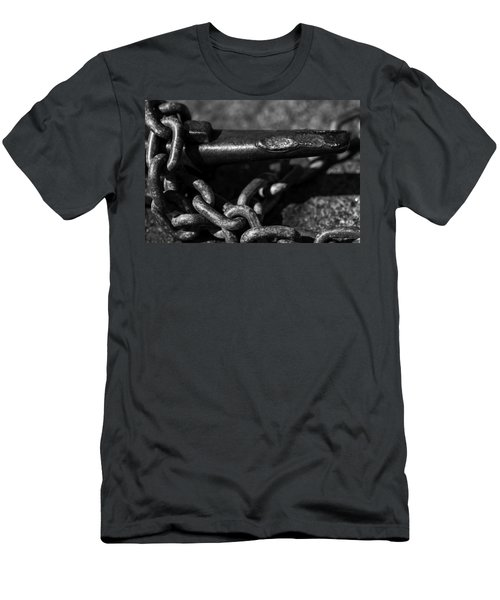 Men's T-Shirt (Slim Fit) featuring the photograph Tied Down by Jason Moynihan