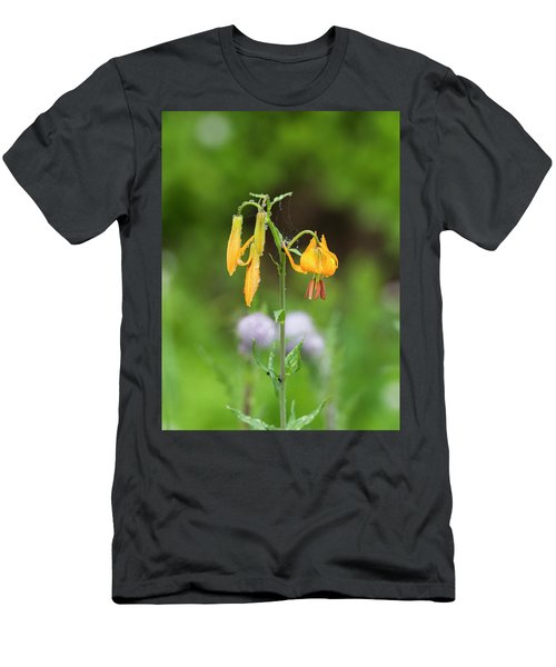Tiger Lily In Olympic National Park Men's T-Shirt (Athletic Fit)