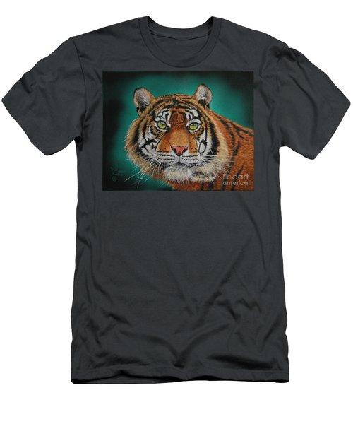 Tiger Portrait......amur Tiger Men's T-Shirt (Athletic Fit)