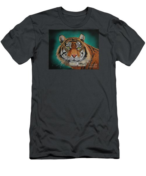 Tiger Portrait......amur Tiger Men's T-Shirt (Athletic Fit)